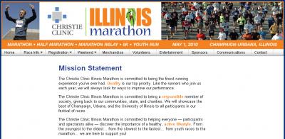 ilmarathonmission 400x196 The Illinois Marathon and Active.com   A Source of Spam?