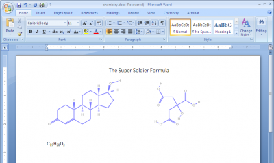inuse 400x238 Chem4Word   Show Chemistry Notations Easily in Word