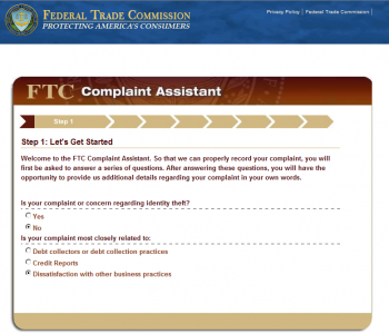 step1a 350x300 How to File a CAN SPAM Complaint with the FTC