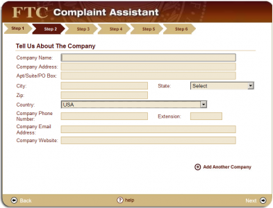 step2 393x300 How to File a CAN SPAM Complaint with the FTC