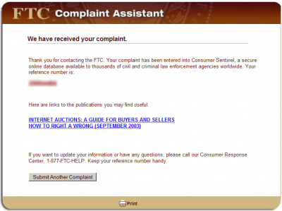 step6 400x299 How to File a CAN SPAM Complaint with the FTC