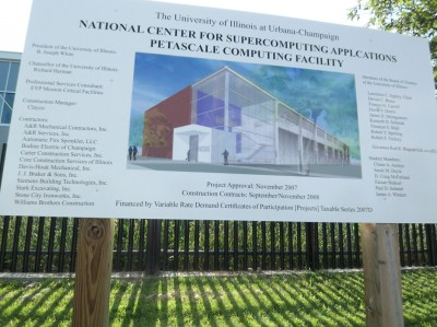 credits 400x299 Touring Blue Waters   The National Petascale Computing Facility