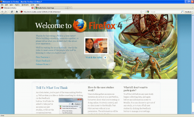 firefox4beta 400x241 Hands on With The Firefox 4 Beta 2