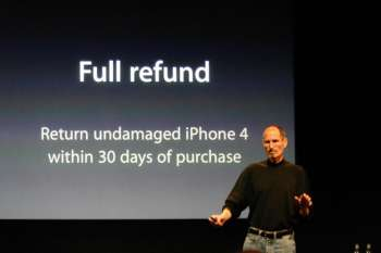 fullrefund Todays iPhone 4 Press Event   Free Cases For All!