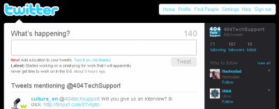 mentions 400x157 Twitters New Follow Recommendations Needs Some Work