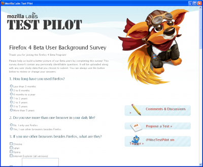 testpilot 400x330 Hands on With The Firefox 4 Beta 2