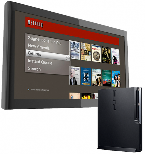 new interface 500x531 Streaming Netflix on PS3 Gets Updated Monday, No Disc Required, Higher Res, and More
