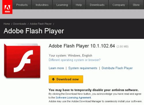 Adobe flash player 10 1 102 64 final