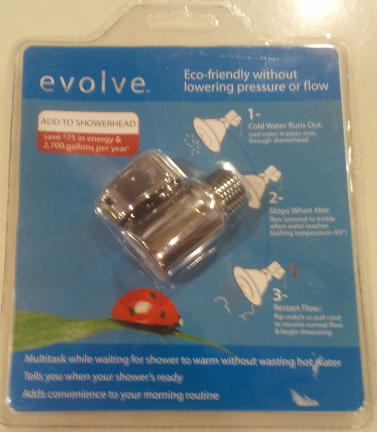 front cover Product Review: Evolve Ladybug Water Saving Showerhead