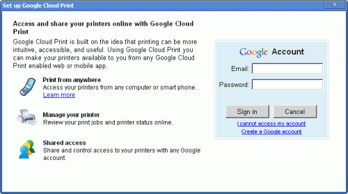 prompt 500x279 Google Releases Google Cloud Print Beta To The Public
