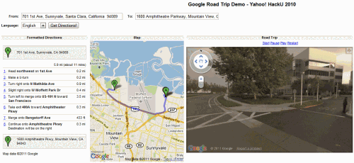 google road trip 500x230 Save Gas, Take Google Maps and Street View For A Road Trip