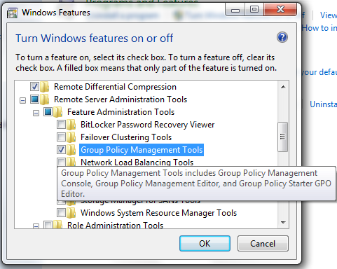 gpmc for windows 7