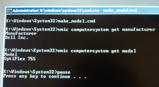 Creating a WinPE LiveCD for WMI lookups - 404 Tech Support
