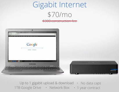 gigabit plan Bandwidth flows like water in Kansas City with Google Fiber