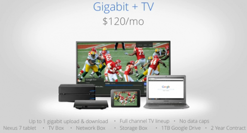 gigabit tv 500x269 Bandwidth flows like water in Kansas City with Google Fiber