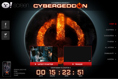 cybergeddon site 500x334 Cybergeddon series now streaming