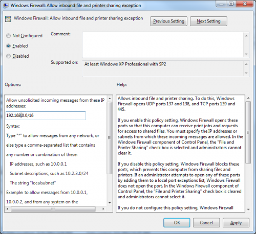 Group Policy to Disable Windows Firewall on Domain | IT Columbia