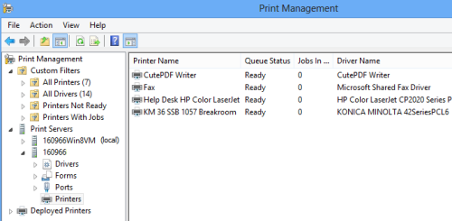 Win8 results How to View Remote Printers in Windows 8