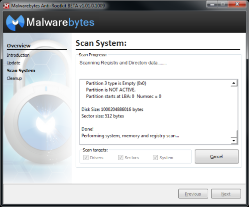 mbar Malwarebytes Anti Rootkit available in beta