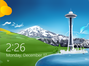 win8 lockscreen Windows 8: How to change your color scheme, lock screen image, Start Screen background, and desktop wallpaper