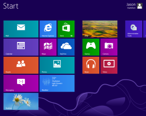 win8 startscreen Windows 8: How to change your color scheme, lock screen image, Start Screen background, and desktop wallpaper