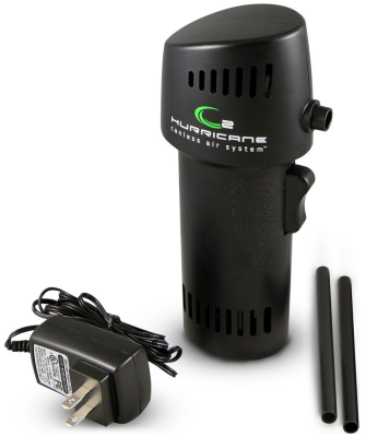 hurricane canless air Product review: O2 Hurricane canless air system