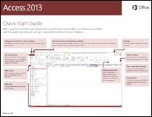 Access 2013 Quick Start Guide