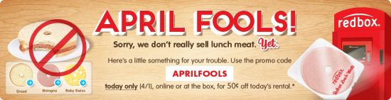 Redbox snack 550x141 April Fools 2013 around the web