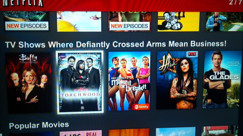 netflix categories April Fools 2013 around the web
