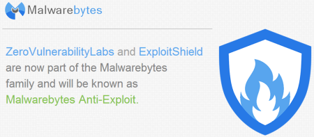 malwarebytes anti exploit Malwarebytes Anti Exploit stems from ZeroVulnerabilityLabs acquisition