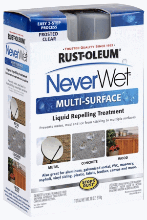 neverwet box NeverWet hits stores