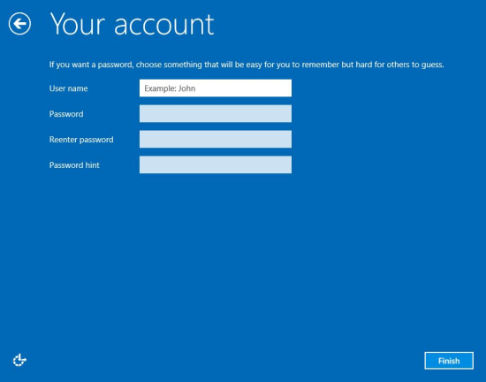 how to create a administrator account in windows 8