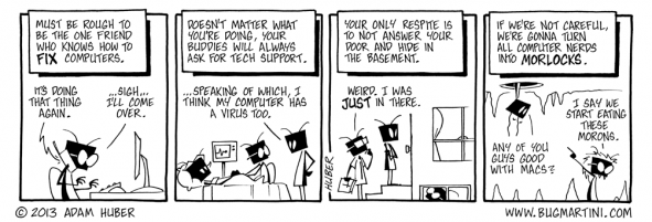 bug technophobe