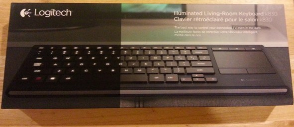 k830 box 591x256 Product Review: Logitech Illuminated Living Room Keyboard K830