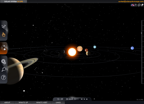 Interactive Model of Solar System (page 2) - Pics about space