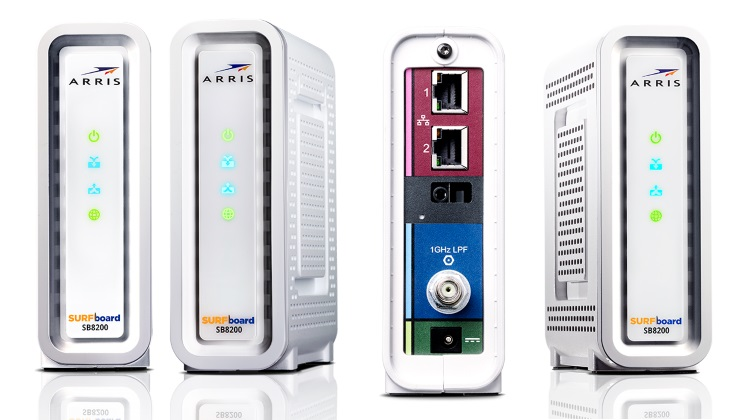 Arris Introduces Their First Docsis 3 1 Cable Modem With